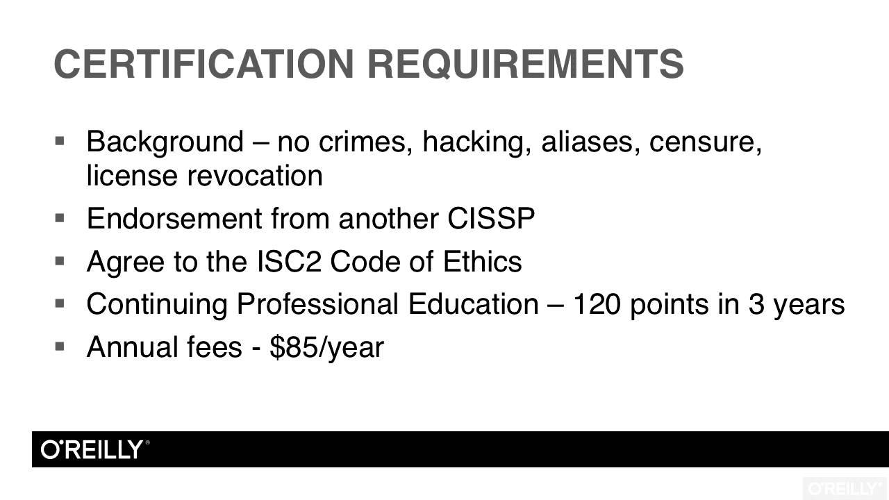 Cissp Certification Training Domain 1 Tutorial Cissp