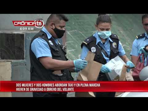 Asaltan y velan a taxista - Nicaragua