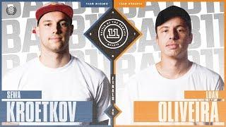 batb 11 semifinals luan oliveira vs sewa kroetkov