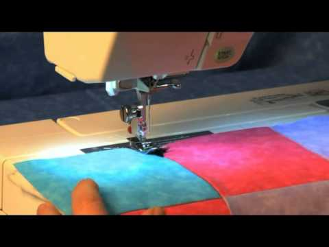 Learn How to Use the Janome Ditch Quilting Foot - YouTube : ditch quilting foot - Adamdwight.com
