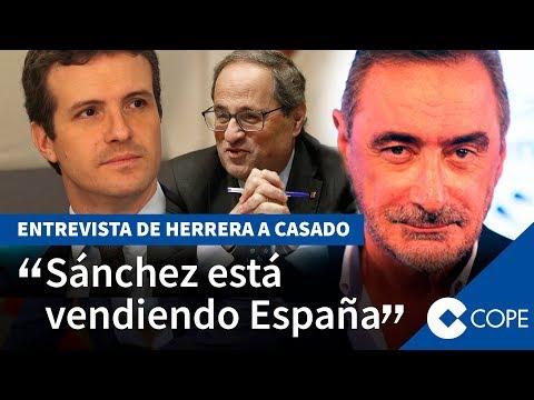 La entrevista de Herrera a Casado tras pactar con Vox