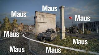 Тяжелый танк Maus и не только ~ Tiberian39 [World of Tanks]