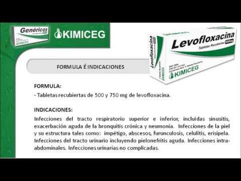 cuánto tiempo actúa la levofloxacina sobre la prostatitis