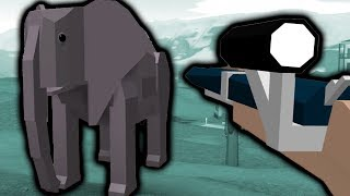 USING A TRANQUILIZER GUN IN ROBLOX ZOO TYCOON!