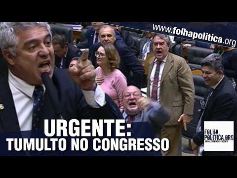 URGENTE: Tumulto no Congresso após senador rebater ataques a Moro por Feghali e Maria do Rosário