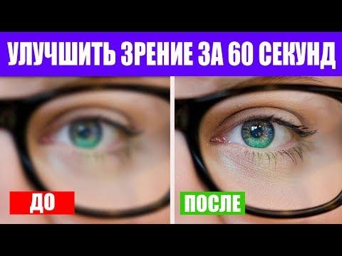 Улучшить зрение за 60 секунд. Тренажер для глаз