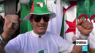 'Long live Algeria!': Football fans are ready for the AFCON final faceoff