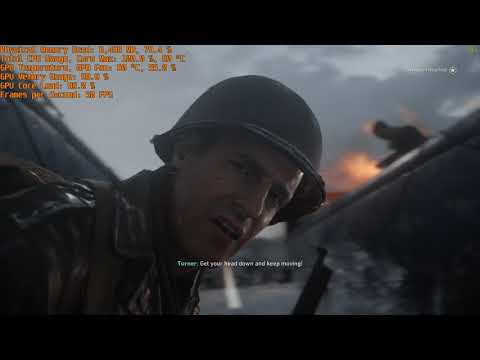 Call of Duty WWII GTX 660