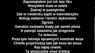 Paktofonika - Chwile Ulotne (Tekst)