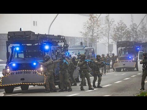 Deutschlands größte Anti-Terror-Übung in Hamburg