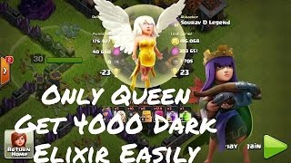 10k dark elixir in 10 minutes,Clash Of Clans loot strategy in town hall 9(th9)