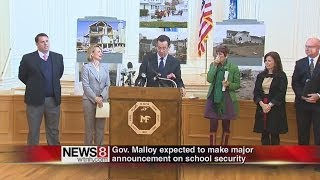 Malloy: schools to receive 'security' grants