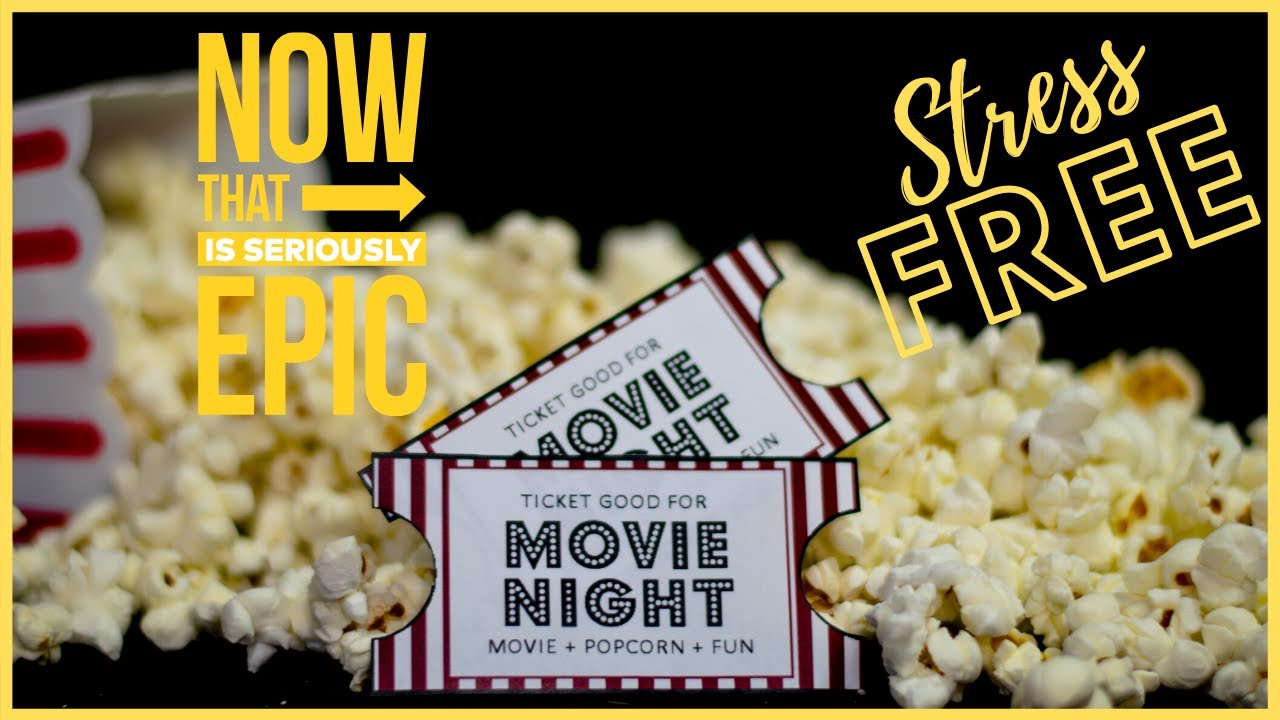 HOW TO HOST A PARTY AND NOT FEEL STRESSED | SUMMER OUTDOOR MOVIE NIGHT