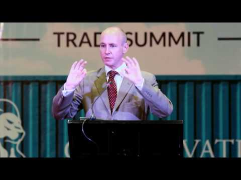 Free trade as a poverty alleviation by Daniel Hannan, Kampala 2017