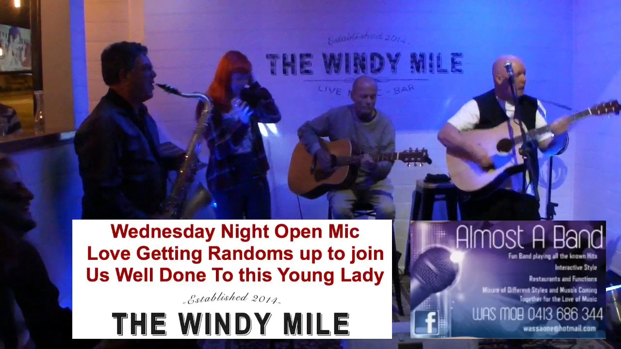 almost a band @ the windy mile cafe open mic 1/2/2017 - youtube