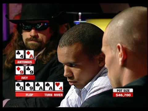 Phil Ivey loses $300k Pot to Antonius