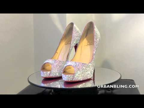 quality design 83610 439de Christian Louboutin New Very Prive 120 mm, red bottom shoes ...
