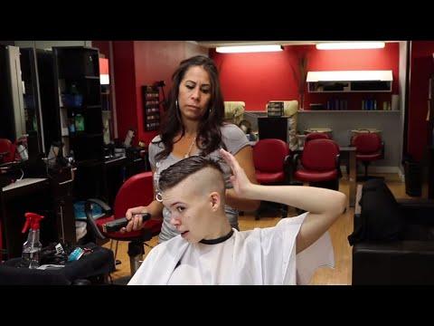 Ora AZ (pt 1): Model Gets Faux hawk w/ Shaved Back & Sides (YT Original)