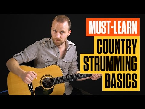 Super Easy Beginner Country Guitar Lesson  Acoustic Country Rhythm  Guitar Tricks