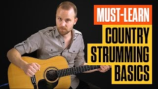 Super Easy Beginner Country Guitar Lesson | Acoustic Country...