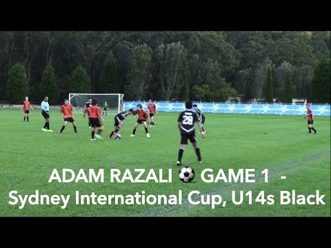 ADAM RAZALI - GAME 1 of Sydney InternationaI Cup, U14s Black