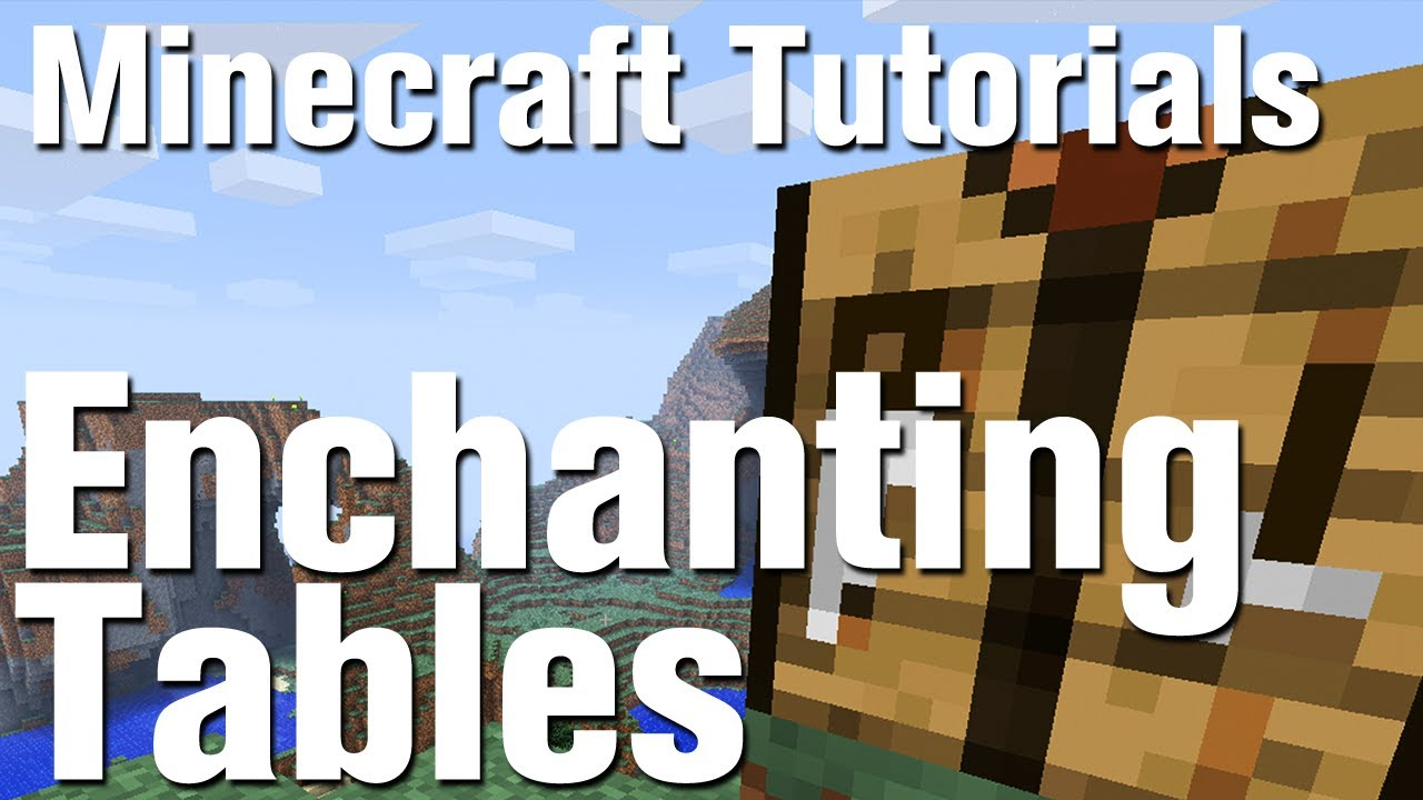 Minecraft tutorial how to make an enchantment table youtube publicscrutiny Images
