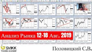 Форекс аналитика с 12 по 18 августа 2019 (Форекс прогноз)