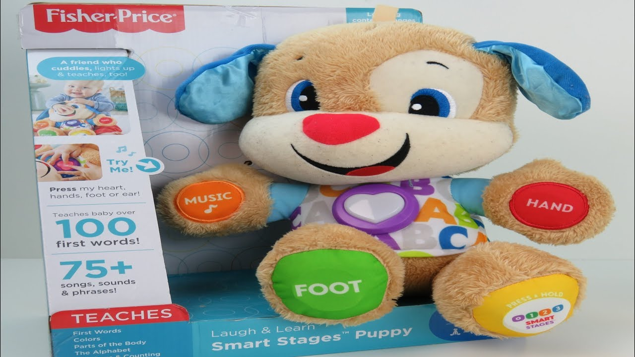 Fisher-Price Laugh /& Learn Smart Stages Puppy