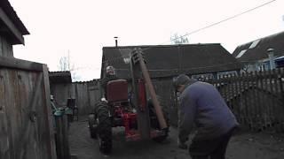 Испытание навесной кран-балки(Откидная , в данном случае, балка, будет использоваться для подъема и перемещения грузов весом до 250кг. В..., 2012-11-05T06:03:09.000Z)