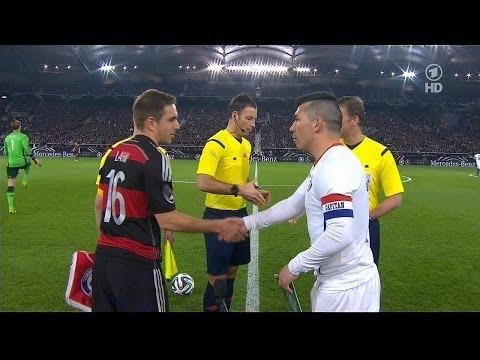 Alemania 1 - 0 Chile - Amistoso 2014 - CHV