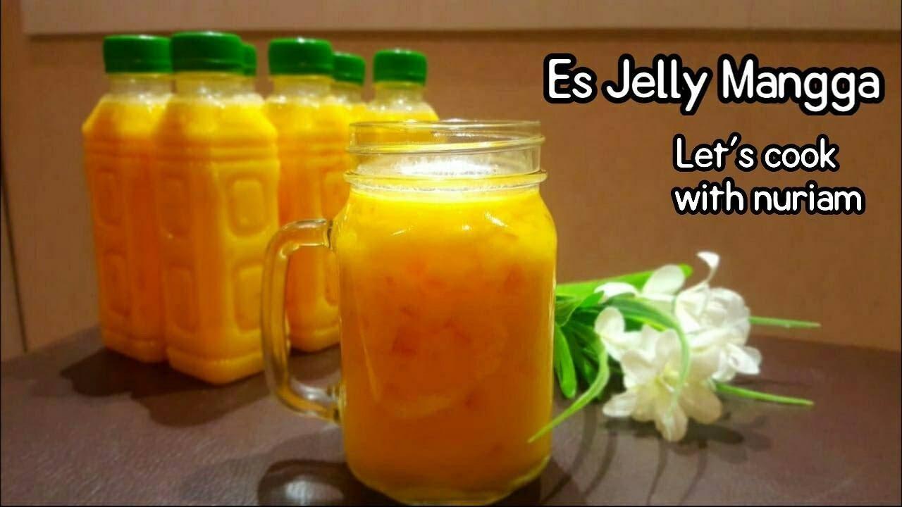 Es Jelly Mangga Cara Membuat Es Jelly Mangga