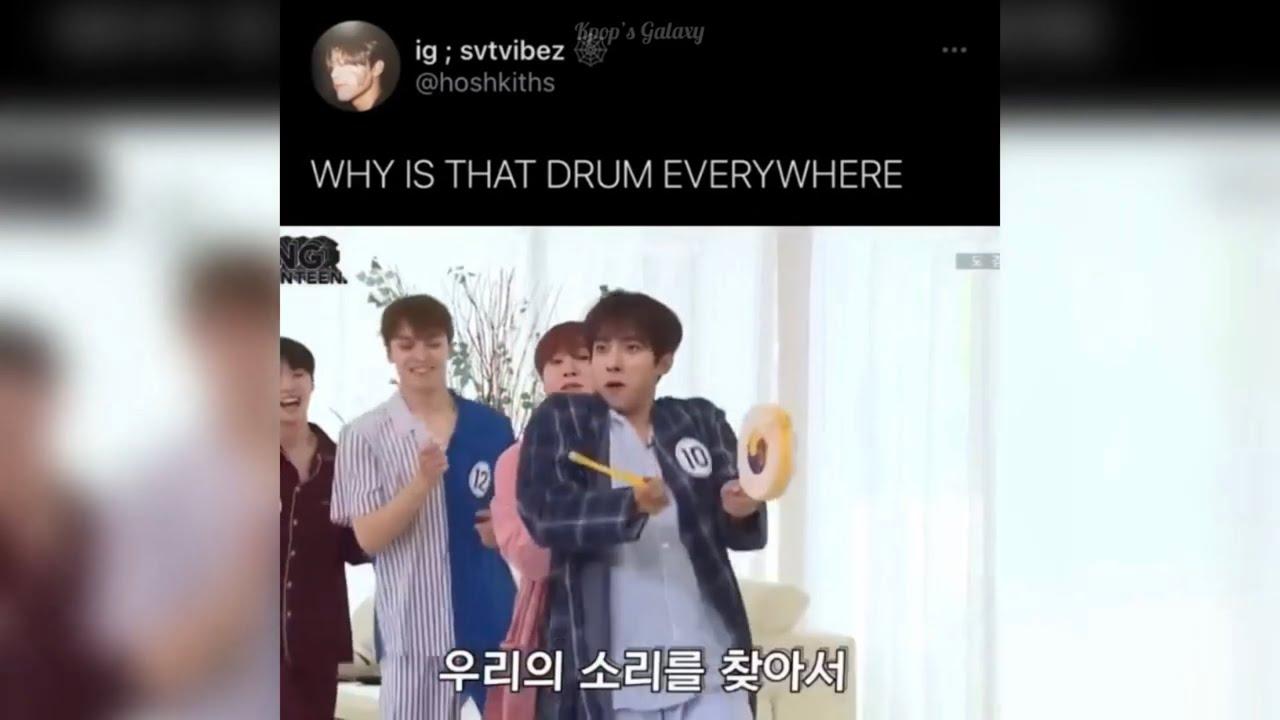 Kpop vines/memes because Seventeen beat the 7 year curse