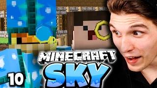 KOMPLETT NEUE MAGIER-RÜSTUNG! & ZOMBEYS FLAMMENWERFER! ✪ Minecraft Sky #10   Paluten