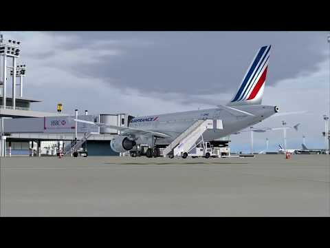 from Paris to Ibiza (HAPPY NEW YEAR)( AIR FRANCE)