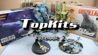 TopKits #2 - Nadesico, Godzilla, Cherno Alpha, Gipsy Danger, Me262 Messerschmitt, SW-190 Space Wolf