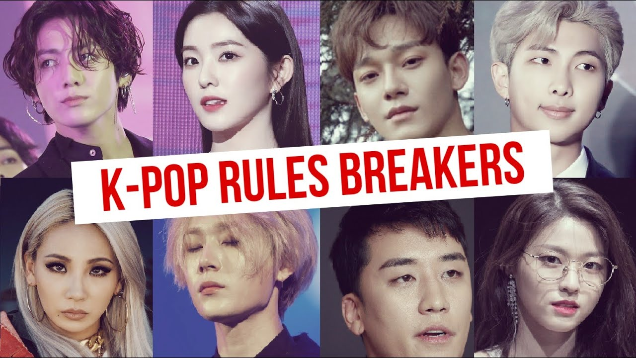 5 Important Kpop RULES Regularly BROKEN By Idols