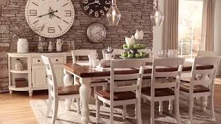 Ashley Furniture Home India, Marsilona Dining Room Table