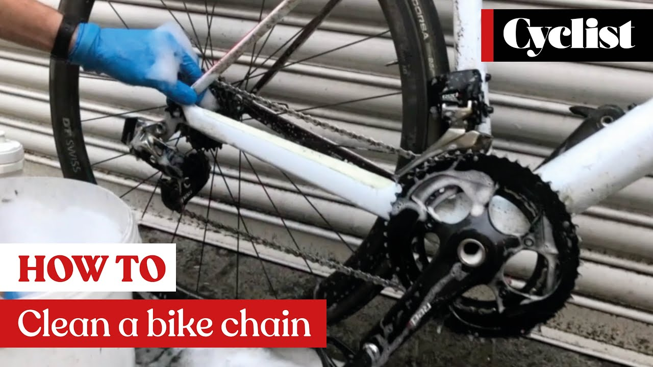 How to clean your bike like a pro: 5