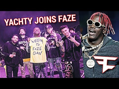 Lil Yachty OFFICIALLY Joins FaZe Clan
