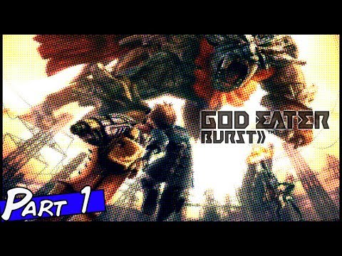 Let's Play Gods Eater Burst PPSSPP Part 1 Intro