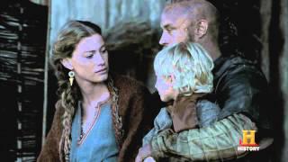 HISTORY'S VIKINGS Season 2 Episode 6 Clip.  Ragnar & Aslaug discuss King Horik and Jarl Borg