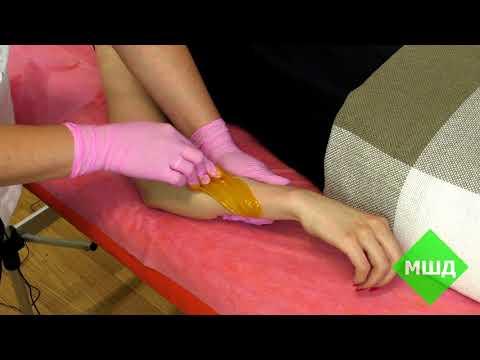 Шугаринг рук. Мануальная техника.