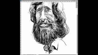 Jim Henson Caricature Sketch
