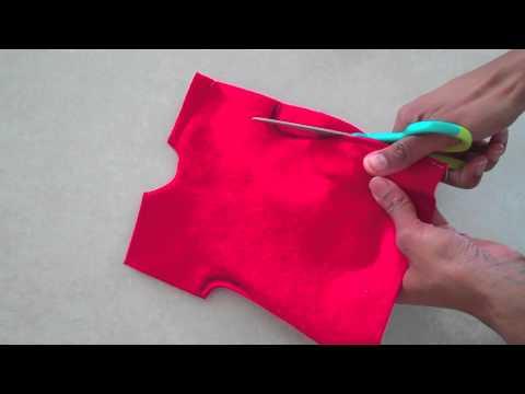 Fabulous Felt: How to Make a Doll Dress : Easy