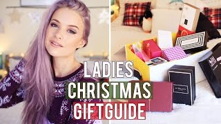 Ladies Christmas Gift Guide | Inthefrow