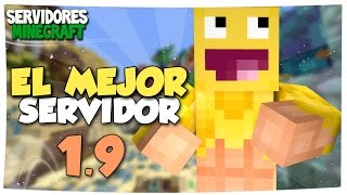 EL MEJOR SERVIDOR DE MINECRAFT FULL 1.9 NO PREMIUM | SkyWars, TnT Run, Lucky Island, etc