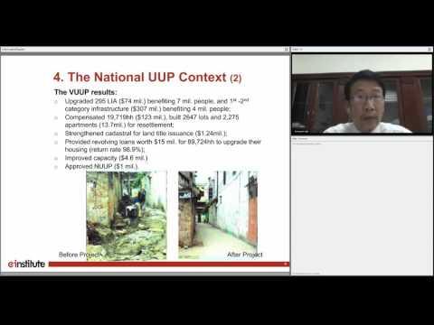 Learning from the Vietnam Urban Upgrading Program