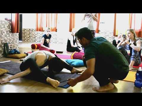 Instructions on Kurmasana (Tortoise Pose)| Yoga in Rishikesh| Himalayan yoga association
