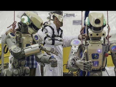 Skybot F-850 Humanoid Robot