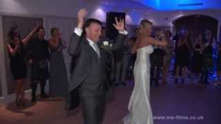Bride and fathers wedding dance - with a twist!